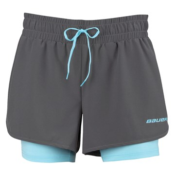 Kalh. BAUER NG Women´s Training 2in1 Short - GRY (1048030)