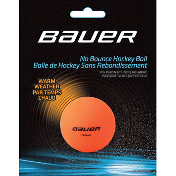 Míček BAUER Warm Orange - 1 ks (1046636)